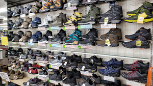 軽登山靴も充実!