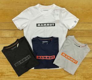 マムートの人気Tシャツ メンズ・レディスともにクリアランス