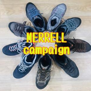 MERRELLキャンペーンは9/30まで!