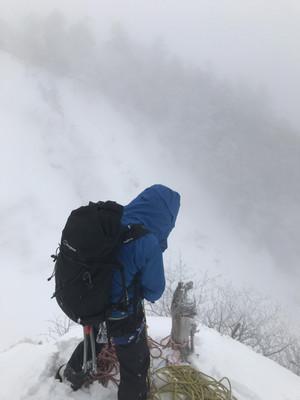 八ヶ岳 日ノ岳稜に行ってきました!!