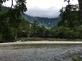 蝶ヶ岳登山!最高の雲海でした!