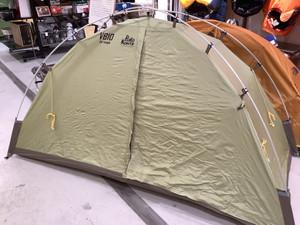 個人的にど真ん中なテント入荷しました!VLの限定色も入荷(最高)