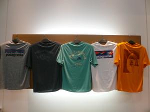 patagonia 夏用人気Tシャツ入荷♪今なら創業祭でポイント10%還元✌
