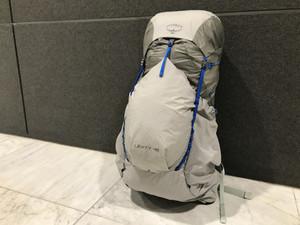 フレーム入りながら1kgを切る OSPREY / Levity 45